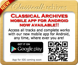 Classical Archives Mobile App for Android