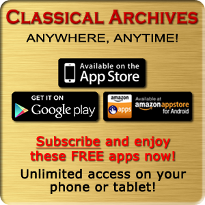 Classical Archives Mobile App