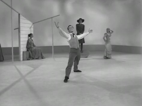 Graham Dances Appalachian Spring